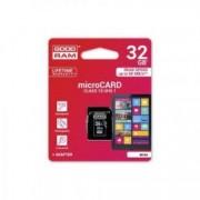 Card de memorie Good RAM 32 GB micro Card class 10 UHS-I+ adaptor
