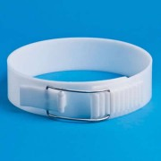 Banda branzeturi presate sistem inchidere, h8cm, P00762, Anelli
