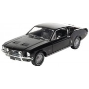 GreenLight 1:18 1968 Ford Mustang GT Fastback (Black)