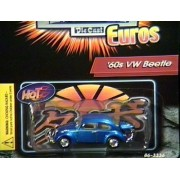 REVELL HOT HATCH EUROS BLUE 60S VW BEETLE DIECAST VEHICLE
