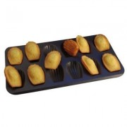 Moule A Madeleine Revetement Anti Adherent 12 Empreintes - Ustensiles A Patisserie - Gobel