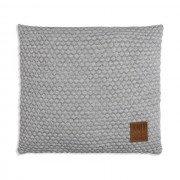 Knit Factory Juul kussen 50x50 lichtgrijs/beige