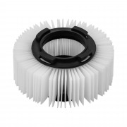 Round HEPA Vacuum Cleaner Filter - with safety lock