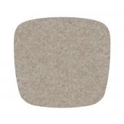 Hey Sign - Filz-Auflage Eames Plastic Armchair, stone 5mm