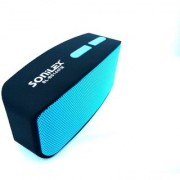 SONILEX BS-144FM HIGH BASS BLUETOOTH WITH MIC SPEAKER SUPPORT FM USB AUX BLUETOOTH MEMORY CARD ( COLOR MAY VERY )