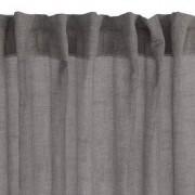 JYSK Gordijn UNNEN 1x140x245 linnenlook grijs