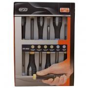 Bahco Ergo gesoleerde schroevendraaiersets voor gleuf en Pozidriv schroeven 6delig BE-9882