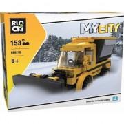 Joc constructie Blocki, Plug deszapezire, 153 piese, Robentoys
