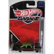 Hot Wheels Garage Black/Green '57 Plymouth Fury Mopar 6/15
