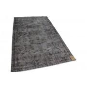 Rozenkelim vintage vloerkleed grijs 262cm x 163cm