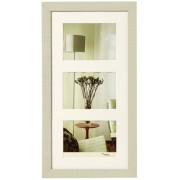 Walther Home 3x15x20 Wooden Frame cream white HO352W