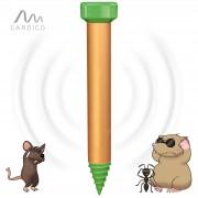 Подземен уред с вибрация и звук прогонващ къртици, сляпо куче, полевки, мравки за 1250 кв.м. GARDIGO