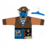 Детский плащ дождевик с подкладкой Kidorable RC-Pirate Пират