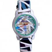 Sky Blue Isolatic Multicolor Designer Wrist Watch