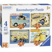 Puzzle Minioni, 12/16/20/24 Piese Ravensburger