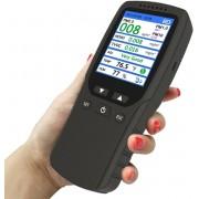8 in 1 Luchtkwaliteit meter PM1.0 PM2.5 PM10 Monitor TVOC HCHO Formaldehyde Detector Temperatuur Vochtigheid Meter Monitor Gas Analyzer