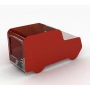 My Charity Boxes - -Ambulance/Truck Acrylic Box - Charity Box - Collection Box - Collection Box - Tip Container (Red)