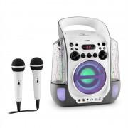 Auna Kara Водна Караоке системаCD, USB, MP3 водни джетове с ЛЕД , 2 x Микрофона (MG3-Kara Liquida GY)