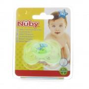 Nuby Mini Brites Ovaler Beruhigungssauger + 18 Monaten (Farbe und Motiv nicht wählbar)