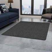 vidaXL antracitszürke tűzött szőnyeg 80 x 150 cm
