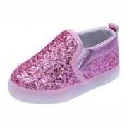 Niño Toddler Zapatos LED Luminoso Niños-rosado