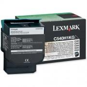 Toner Lexmark C540H1KG black, C54x/X54x 2.5k
