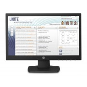 "HP v197 - Monitor LED Com chave KVM - 18.5"" (18.5"" visível) - 1366 x 768 - TN - 200 cd/m² - 600:1 - 5 ms - DVI-D, VGA - preto"