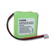 Batterie NI-MH 500mAh compatible pour SIEMENS Gigaset E40, E45, E450, E450 ECO, E450 SIM, E455, V30145-K1310-X382, Swisscom Aton CL-102