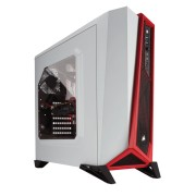 Gabinete Corsair Spec Alpha White/Red s/Fuente CC-9011083-WW