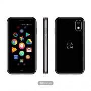 Palm Phone PVG100 (el teléfono pequeño Premium desbloqueado) con memoria de 32 GB y cámara de 12 MP (titanio)