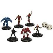 Neca HeroClix Marvel Classic Iron Man Armor Wars Mega Battle Pack