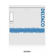 Deltaco Cat6 patchkabel, 25m, vit