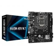 MB, ASRock H410M-HDV/M.2 /Intel H410/ DDR4/ LGA1200