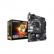 T. Madre Gigabyte GA-B360M-DS3H, Chipset Intel B360, Soporta, Intel Core i7 / i5 / i3 de 8va Gen., Socket 1151, Memoria, DDR4 2666/2400/2133 MHz, 64GB Max, Integrado, Audio HD, Red, USB 3.1 y SATA 3.0, Micro-ATX, Ptos, 1xPCIEx16, 1xPCIEx4,