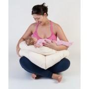 Perna gravida 3 in 1 BEBEDECO Somn Usor cu husa alba in forma cifrei 9- cod PG00