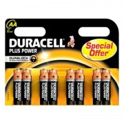 Alkáli Elemek DURACELL Plus Power DURLR6P8B LR6 AA 1.5V (8 pcs)