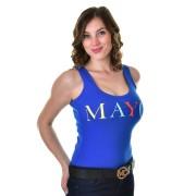 Mayo Chix női rövid ujjú body LASER m2019-1Lasermatrica0417/kek