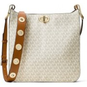Michael Kors White Messenger Bag