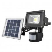 Kerti napelemes LED reflektor - mozgásérzékelő, szürkületi érzékelő