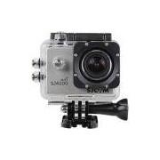 Câmera de Aventura Sjcam Sj4000 12MP HDMI Wifi Filma em Full HD 1080p - Prata