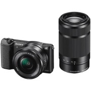 SONY Hybride camera Alpha 5100 + 16-50 mm + 55-210 mm (ILCE5100YB)