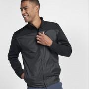 Nike Shield Herren-Golfjacke mit durchgehendem Reißverschluss - Schwarz