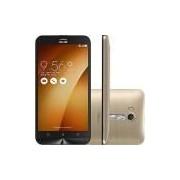 Smartphone Asus Zenfone GO Live Dual Chip Android 5.1 Tela 5.5 Snapdragon 32GB 4G Câmera 13MP - Dourado