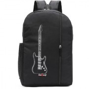 LeeRooy Canvas 20 LTR Black Casual Stylish/Laptop Bag/Backpack/School Bag/College Bag/Office Bag For Unisex