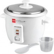 Cello Cook-N-Serve 600 Electric Rice Cooker Electric Rice Cooker(0.6, White)