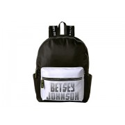 Betsey Johnson Sporty Logo Backpack Black