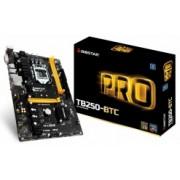 Tarjeta Madre Biostar ATX TB250-BTC, S-1151, Intel B250, USB 3.0, 32GB DDR4, para Intel