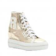 Rucoline Sneakers con zeppa interna oro