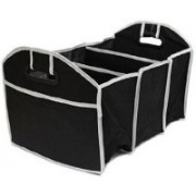 Italish Easy Collapsible Portable car Trunk Storage(Black)