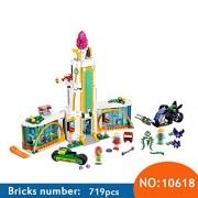 Generic Super Heroine High School 719 Pcs Bricks Set Sale DC Power Girls Building Blocks DIY Bricks Toys for Children Compatible 41232